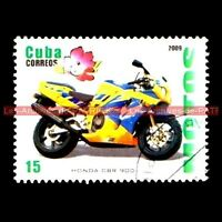 HONDA CBR 900 RR Fire Blade FireBlade Moto Timbre Poste Collection Stempel Stamp