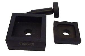 Poinçon  pour Poinçonneuse Hydraulique Perforación Punzonatura 90,5x90,5 mm