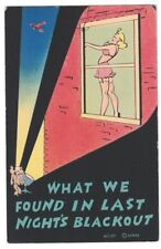 1940'S WWII SOLDIERS SEARCHLIGHT SEXY GIRL WINDOW WHAT WE FOUND IN BLACKOUT PC