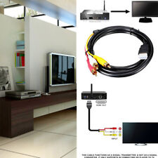 HDMI Male to 3 RCA Video Audio Converter Component AV Adapter Cable HDTV HD