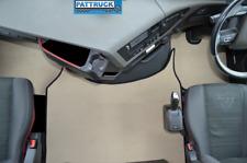 VELOUR CARPET  FLOOR MATS SET-BEIGE- FIT  VOLVO FH4 2013+  [TWIN AIR SEATS]