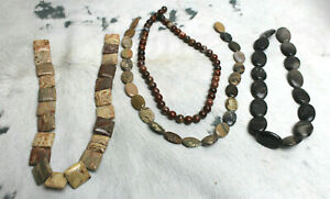 UNB Stringed Stones Jewelry Making 4 Styles Picture Jasper