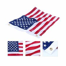 Amarine-made12x18 Inch Yacht Boat Ensign Nautical US American Flag With Sewn ...