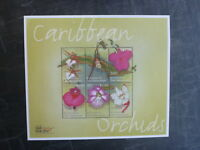 2000 St VINCENTS ORCHIDS OF THE CARIBBEAN STAMP SHOW 6 STAMP MINI SHEET MNH