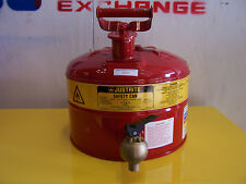 8253 JUSTRITE 10707 3 GALLON SAFETY CAN