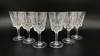 Gorham Crystal - King Edward wine glasses Set Of (8)