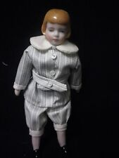 "7"" Artist Made Porcelain Buster Brown Style Doll"