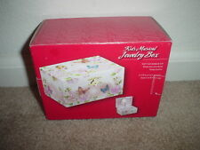 KIDS MUSICAL JEWELRY BOX (FAIRY, BUTTERFLIES, & PINK ROSES) IN BOX - NEW