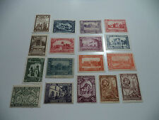 (86) ESPAÑA 1930 EDIFIL 566 - 581 MINT++, MINT + USED. POSIBLE CON FALSOS ?