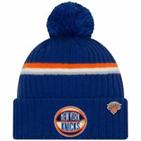 New York Knicks New Era 2019 NBA Draft Cuffed Knit Hat - Royal