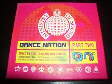 Pete Tong And Boy George ‎– Dance Nation Part Two (Ministry Of Sound) 2 CD
