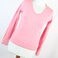 TU Pink Cotton Womens Basic Tee Size L