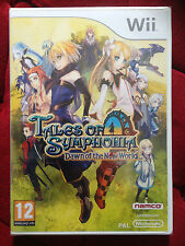 TALES OF SYMPHONIA DAWN OF THE NEW WORLD Nintendo WII PAL FR ++ 100% NEUF