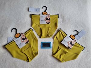 """M&S BODY COLLECTION x3 """"NO VLP SMOOTHING SILHOUE BRAZILIAN KNICKERS  SIZE 10"""