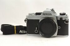 @ Ship in 24 Hrs @ Late S/N:3428006 & Excellent! @ Nikon FM 35mm Film SLR Camera