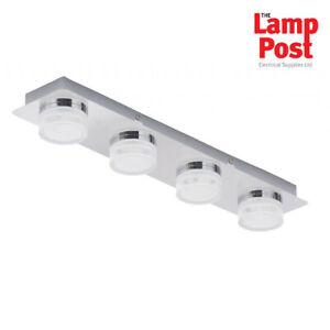 Forum SPA-31737-CHR Amalfi 4 Light LED Bathroom Spotlight Bar Polished Chrome