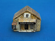 KELLER CHARLES MINIATURE BUILDING - 3021X HARDWARE GIFT STORE - MADE IN ENGLAND