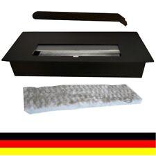 1,3 litros de etanol ajustable quemador con lana de cerámica Negro para Chimenea