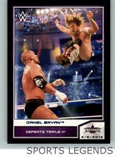 2014 WWE Road to Wrestlemania blue #102 Daniel Bryan