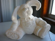 Ready to Paint Ceramic Patchwork Pal Bunny Bank