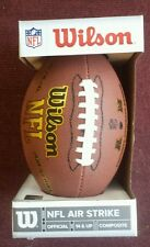 Nfl Wilson Football ( Nfl Air Strike) 14 & Up Composite. Wtpckf1650 New in Box.