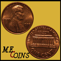 1970 Lincoln Memorial Cent Penny , GEM BU Red , US Coin , Free Shipping!