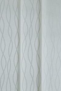 89mm Vertical Blind Slats in Aria Grey/Silver Fabric