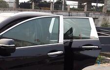 6PCS Stainless Mirror Window Pillar Post Moulding Trim For  Honda CRV 2012-2016