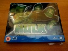 Hulk Blu Ray Steelbook (Play.com Exclusive UK) Rare