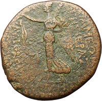 Apameia near Antiocheia 37BC Very rare Ancient Greek Coin Athena  Nike i29765
