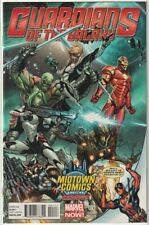 GUARDIANS OF THE GALAXY #1 MIDTOWN NYC CAMPBELL DEADPOOL VARIANT 9.6 9.8 CGC IT