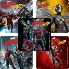"""Ant-Man and The Wasp Stickers, 2.5"""" x 2.5"""" each, Party Favors"""