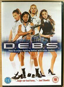 D.E.B.S DVD 2004 Debs Cult Teen Comedy starring Jordana Brewster + Sara Foster