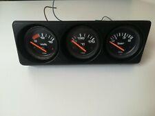 RARE VDO Gauges  Votex console VW GOLF JETTA MK2  GTI 16V G6  191 054 180