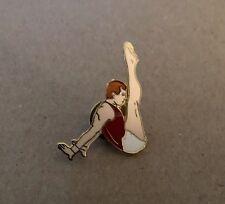 New Designs by Margarita Men's Gymnastics Floor Exercise Enamel Lapel Pin