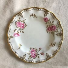 """ROYAL CROWN DERBY ROYAL PINXTON ROSES A.1155 7.75"""" SALAD PLATE EXCELLENT"""