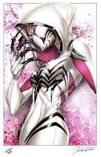 JAMIE TYNDALL -  DEADLY SPIDER-GWEN ART PRINT  SIGNED 11X17