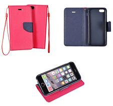 LG G4 Book Case Pink Handy Tasche Klapptasche Flip Cover Schutz Hülle Etui