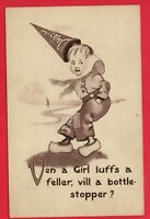 DUTCH DAFFYDILS SERIES WHEN A GIRL LOVES... COLVIN  WILMINGTON OHIO OH POSTCARD