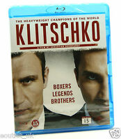 Klitschko Blu-ray Región B Nuevo Sellado