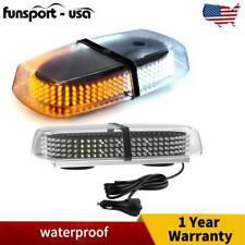 240 LED Amber/Yellow Roof Top LED Emergency Strobe Lights Mini Bar for Car Truck