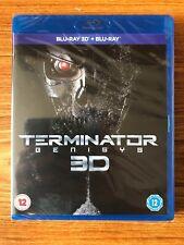 Terminator Genisys 3D (Blu-ray) Brand New Sealed
