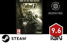 Fallout 3 Game of The Year Edition PC (steam Download Key)
