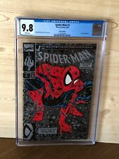 Spider-Man #1 (Aug 1990, Marvel) CGC 9.8 Silver Edition 1st printing Lizard app.