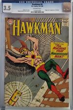 HAWKMAN #4 CGC 3.5 1ST ZATANNA