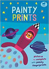 Painty Prints: Pictures to Complete with Painty Fingerprints, New, Martin, Jorge