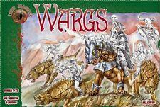 Dark Alliance Plastic 1/72 Fantasy Wargs LOTR Figures Set 72019 NEW In Box!