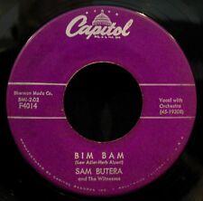 SAM BUTERA & THE WITNESSES-Bim Bam + Twinkle-Rare R&B Soul 45-CAPITOL #F4014