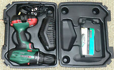 Parkside 18V cordless drill, charger, battery