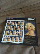 Legends of Hollywood -Marilyn Monroe -Souvenir Sheet 20 Stamps-SEALED-MINT- 1995